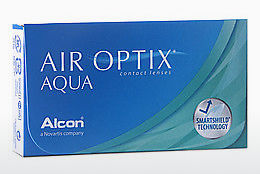 Contact Lenses Alcon AIR OPTIX AQUA (AIR OPTIX AQUA AOA3)