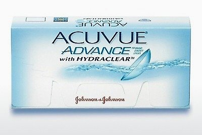 Contact Lenses Johnson & Johnson ACUVUE ADVANCE with HYDRACLEAR AVG-6P-REV