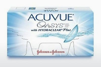 Contact Lenses Johnson & Johnson ACUVUE OASYS with HYDRACLEAR Plus PH-12P-REV