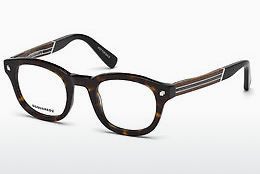 Eyewear Dsquared DQ5230 052 - Brown, Havanna