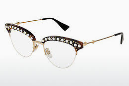 Eyewear Gucci GG0213O 002 - Brown, Havanna