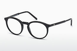 Eyewear Mont Blanc MB0554 001 - Black, Shiny