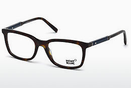 Eyewear Mont Blanc MB0638 052 - Brown, Dark, Havana