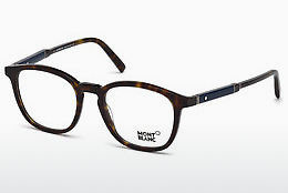 Eyewear Mont Blanc MB0639 052 - Brown, Dark, Havana