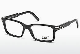 Eyewear Mont Blanc MB0668 001 - Black, Shiny