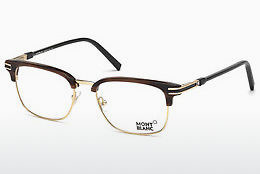 Eyewear Mont Blanc MB0669 048 - Brown, Dark, Shiny