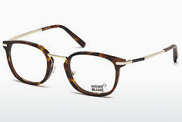 Eyewear Mont Blanc MB0671 052 - Brown, Dark, Havana