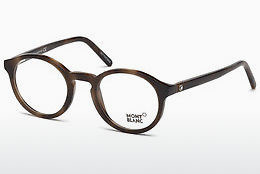 Eyewear Mont Blanc MB0673 052 - Brown, Dark, Havana