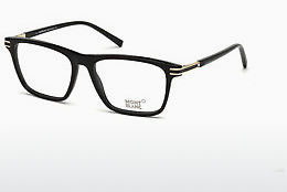 Eyewear Mont Blanc MB0710 001 - Black, Shiny