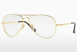 Eyewear Ray-Ban Aviator (RX6489 2500) - Gold