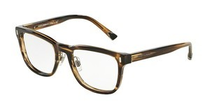 Dolce & Gabbana DG3241 2925 STRIPED TOBACO