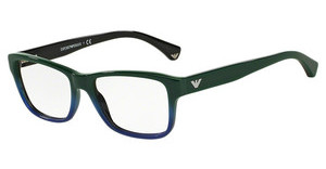 Emporio Armani EA3051 5349 GREEN GRADIENT BLUE ON BLACK
