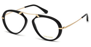 Tom Ford FT5346 001 schwarz glanz