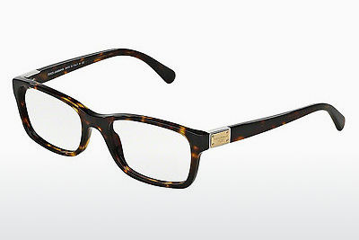 Eyewear Dolce & Gabbana LOGO PLAQUE (DG3170 502) - Brown, Havanna