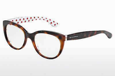 Eyewear Dolce & Gabbana POIS (DG3201 2872) - Brown, Havanna, Red