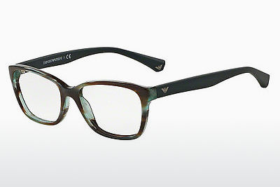 Eyewear Emporio Armani EA3060 5388 - Brown, Havanna, Green