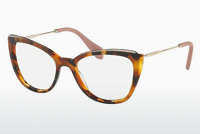 Eyewear Miu Miu MU 02QV VX81O1 - Transparent, Brown, Havanna