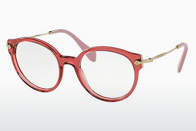 Eyewear Miu Miu MU 04PV U681O1 - Transparent, Red