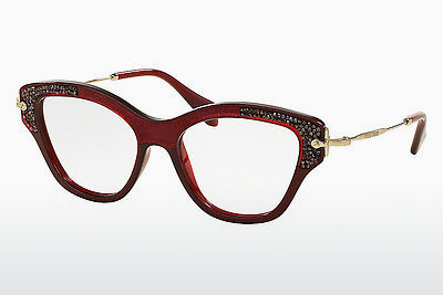 Eyewear Miu Miu MU 07OV TKW1O1 - Red, Bordeaux