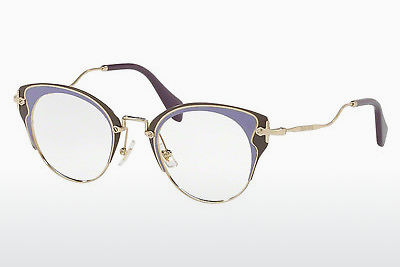Eyewear Miu Miu MU 52PV U671O1 - Gold, Purple