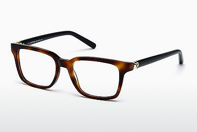 Eyewear Mont Blanc MB0486 052 - Brown, Dark, Havana