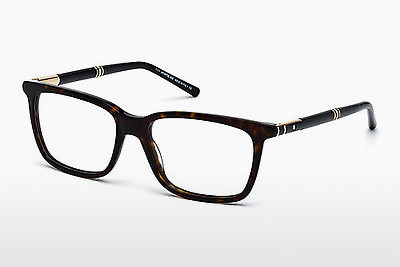 Eyewear Mont Blanc MB0489 052 - Brown, Dark, Havana