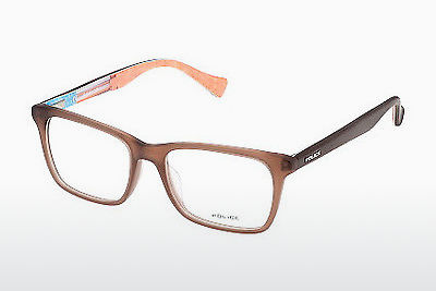 Eyewear Police TRICK 1 (VK037 B36M) - Brown, Transparent