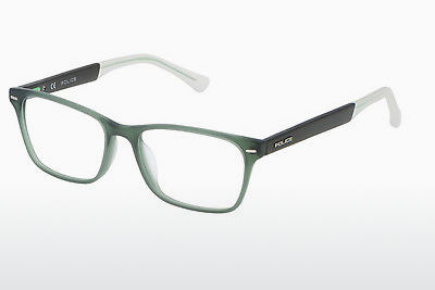 Eyewear Police VPL192 T52M - Green, Transparent