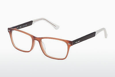 Eyewear Police VPL192 W45M - Brown, Transparent