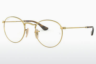 Eyewear Ray-Ban ROUND METAL (RX3447V 2500) - Gold