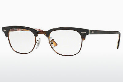 Eyewear Ray-Ban CLUBMASTER (RX5154 5650) - Patterned, Brown, Havanna