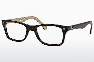 Eyewear Ray-Ban RX5228 5057 - Brown, Havanna, Patterned