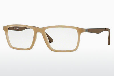Eyewear Ray-Ban RX7056 5646 - Brown, Beige