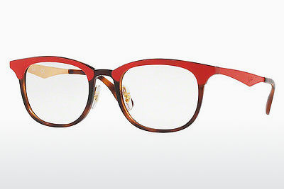 Eyewear Ray-Ban RX7112 5730 - Brown, Havanna, Red