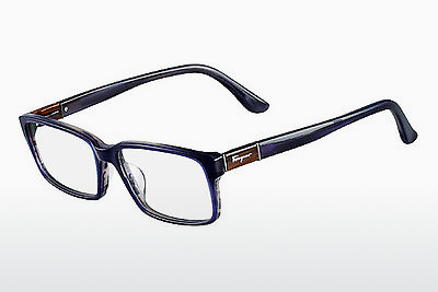 Eyewear Salvatore Ferragamo SF2636 423 - Blue, Havanna