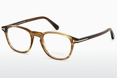 Eyewear Tom Ford FT5389 048 - Brown, Dark, Shiny