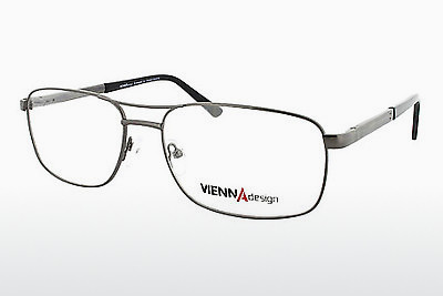 Eyewear Vienna Design UN538 03 - Grey, Gunmetal