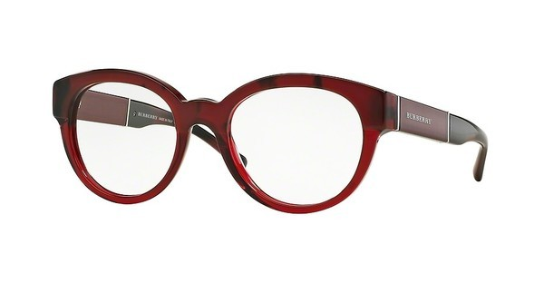 Burberry BE2209 3591 TOP RED HORN/BORDEAUX