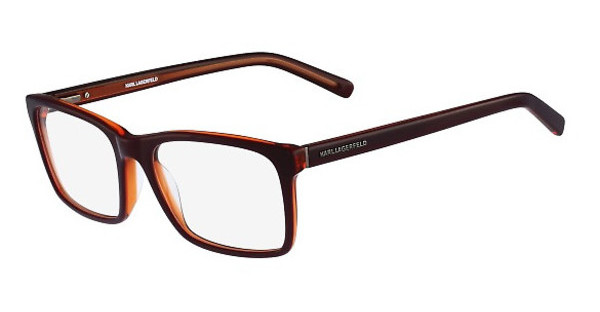 Karl Lagerfeld KL884 037 BURGUNDY-ORANGE