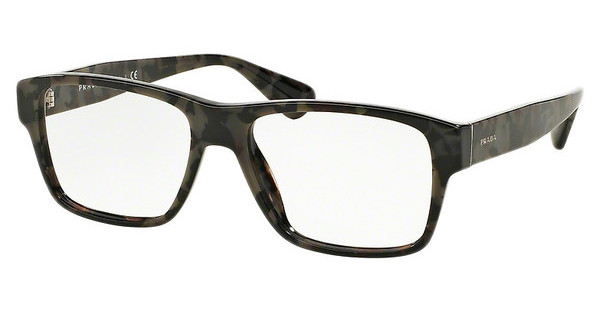 Prada PR 17SV UEL1O1 SPOTTED BROWN GREY