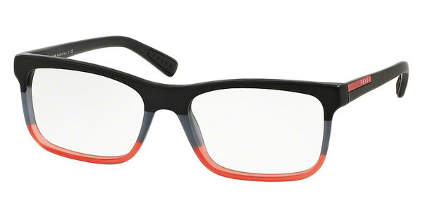 Prada Sport PS 05FV TWS1O1 BLACK/GREY/RED