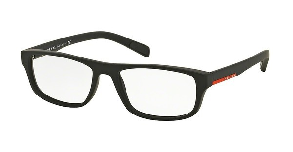 Prada Sport PS 06GV DG01O1 BLACK RUBBER