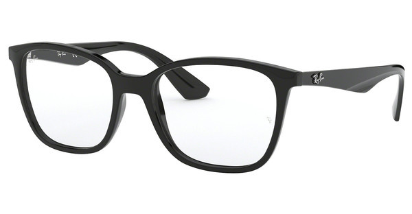 Ray-Ban RX7066 2000 SHINY BLACK