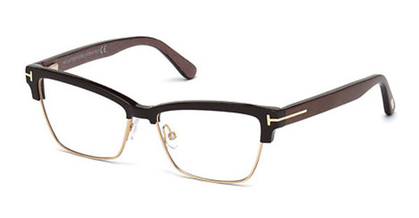 Tom Ford FT5364 048 braun dunkel glanz