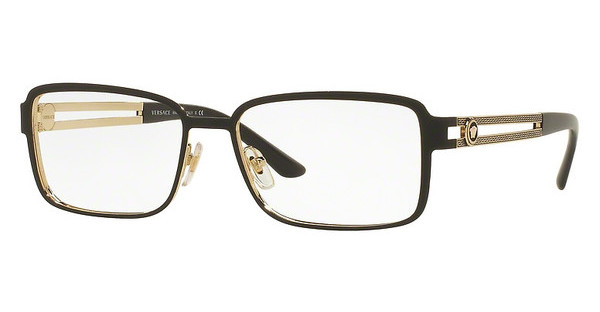 Versace VE1236 1377 MATTE BLACK/PALE GOLD
