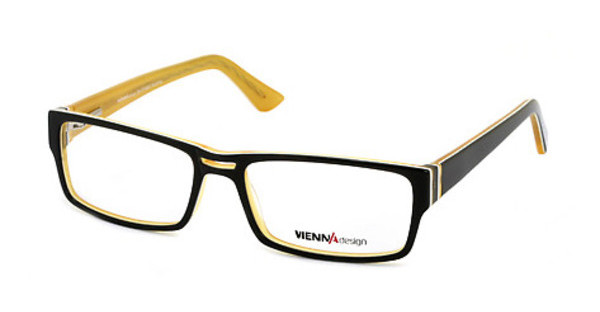 Vienna Design UN368 03 dark green-white-x'tal yellow