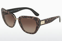 Ophthalmic Glasses Dolce & Gabbana DG4296 199513 - Brown, Leopard