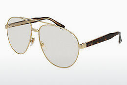 Ophthalmic Glasses Gucci GG0054S 004 - Gold