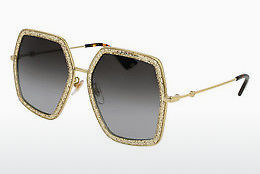 Ophthalmic Glasses Gucci GG0106S 005 - Gold