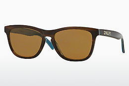 Ophthalmic Glasses Oakley FROGSKINS LX (OO2043 204303) - Blue, Brown, Havanna